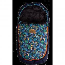 Babymatex Nepromokavý fusak Saturn modrá tukani, 100 cm