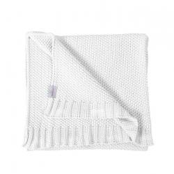 Babymatex Dětská deka Tully bílá, 80 x 100 cm