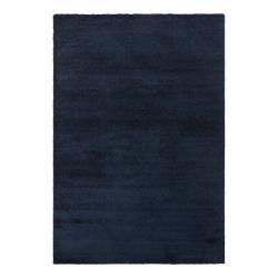 Tmavě modrý koberec Elle Decor Glow Loos, 200 x 290 cm