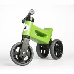 Teddies Odrážedlo Funny wheels Rider Sport 2v1, zelená