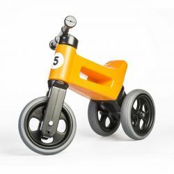 Teddies Odrážedlo Funny wheels Rider Sport 2v1, oranžová