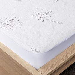 4Home Lavender Chránič matrace s lemem, 160 x 200 cm