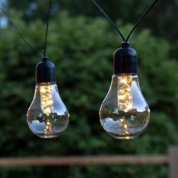 Best Season LED světelný řetěz Glow, baterie, čirý