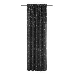 Albani Zatemňovací závěs Jorvin černá, 135 x 245 cm
