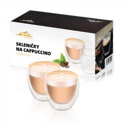 Skleničky na cappuccino ETA 2x 250 ml