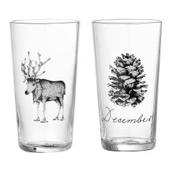 Sada 2 skleniček Bloomingville Maria, ⌀ 6 cm