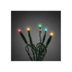 Vánoční světelný řetěz 40 LED, 6 m, barevná