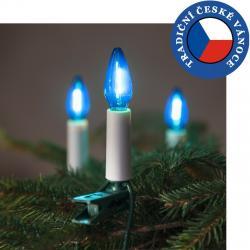 Souprava Felicia LED Filament modrá SV-16, 16 žárovek