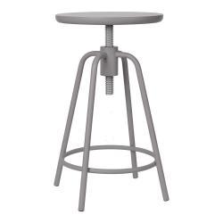 Světle šedá otočná stolička Blomus Around