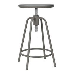 Tmavě šedá otočná stolička Blomus Around