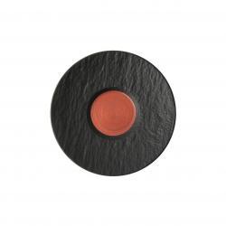Villeroy & Boch Manufacture Rock Glow podšálek k šálku na bílou kávu, Ø 17 cm