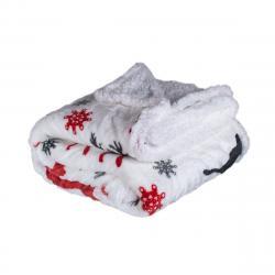 Jahu Beránková deka Jelen červený, 150 x 200 cm