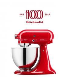 KitchenAid robot Artisan KSM180, Queen of Hearts, KSM180 passion red, vášnivě červená barva, 5KSM180HESD