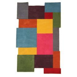 Barevný vlněný koberec Flair Rugs Collage, 150 x 240 cm