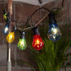 Best Season Circus Filament LED světelný řetěz, černá, barevná