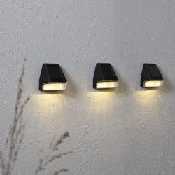 Best Season Wally LED solární nástěnné světlo Mini 3 ks