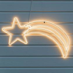 Konstmide CHRISTMAS LED dekorační silueta - kometa pro exteriér