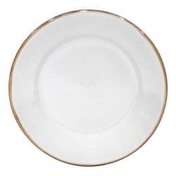 Bílý talíř z kameniny Casafina Sardegna,⌀30cm