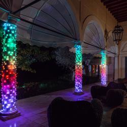 Twinkly Světelný řetěz Twinkly RGB, černý, 100 žárovek 8m