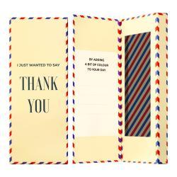 Dárková krabička na ponožky Ballonet Socks Thank You Socks Card