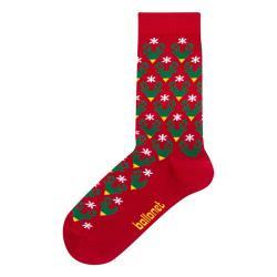 Ponožky v dárkovém balení Ballonet Socks Season's Greetings Socks Card with Caribou, velikost 36 - 40
