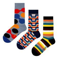 Set 3 párů ponožek Ballonet Socks The 70s v dárkovém balení, velikost 36 - 40
