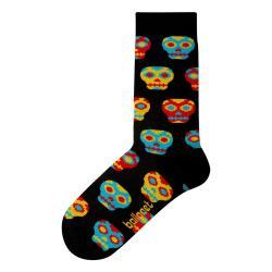 Ponožky Ballonet Socks Skulls, velikost 41 - 46