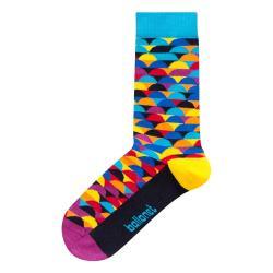Ponožky v dárkovém balení Ballonet Socks Happy Birthday Socks Card with Sunset, velikost 41 - 46