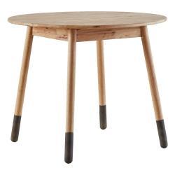 Kulatý jídelní stůl DEEP Furniture Jack, ⌀80cm