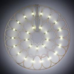 Sforzin Lafra - LED nástěnné světlo a dekorační prvek