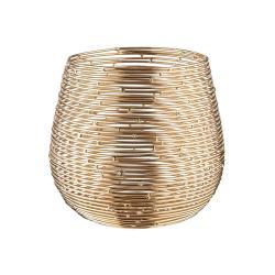 TWINE LIGHT Svícen na čajovou svíčku 16 cm