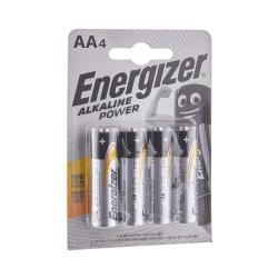 ENERGIZER Alkalické power baterie AA 4 ks