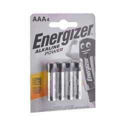 ENERGIZER Alkalické power baterie AAA 1,5V 4 ks