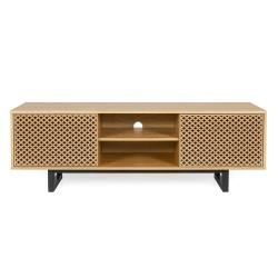 TV stolek vdubovém dekoru Woodman Mora