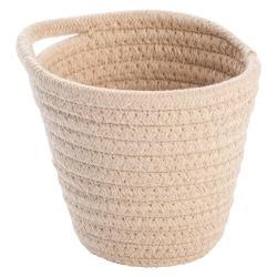 Béžový závěsný úložný košík Wenko