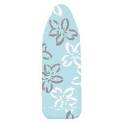 Modrý bavlněný potah na žehlící prkno Wenko Flowers M