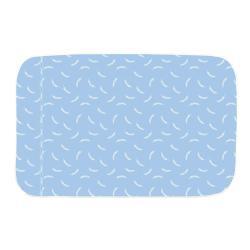 Modrá deka na žehlení Wenko Flowers