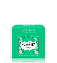 Kusmi Tea Detox, 10 mušelínových sáčků (22 g)