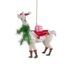 HANG ON Vánoční ozdoba alpaka 10,8 cm
