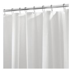 Bílý sprchový závěs iDesignPEVA Liner, 183x183cm
