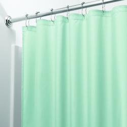 Zelený sprchový závěs iDesign, 200x180cm