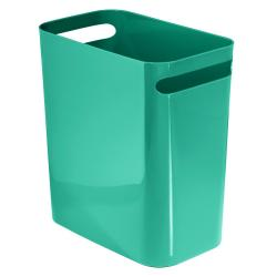 Zelený odpadkový koš iDesign Una, 13,9l