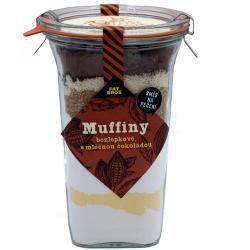 Bezlepková směs na pečení Fat Brothers Muffiny s mléčnou čokoládou