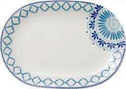 Villeroy & Boch Tea Passion Medina oválný dezertní talíř, 26 cm, 2 ks