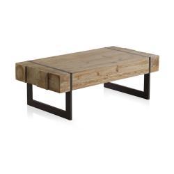 Konferenční stolek s kovovými nohami Geese Robust, 120 x 60 cm