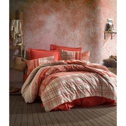 Bavlněné povlečení s prostěradlem Cotton Box Dust, 200 x 220 cm