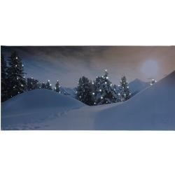 LED Obraz na plátně Rello, 58 x 28 cm