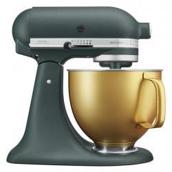 Kuchyňský robot KitchenAid Artisan 5KSM156 lahvově zelená, zlatá mísa, 5KSM156VGEPP