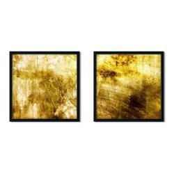 Sada 2 zarámovaných plakátů Insigne Golmoria,50x50cm