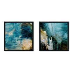 Sada 2 zarámovaných plakátů Insigne Darko,50x50cm